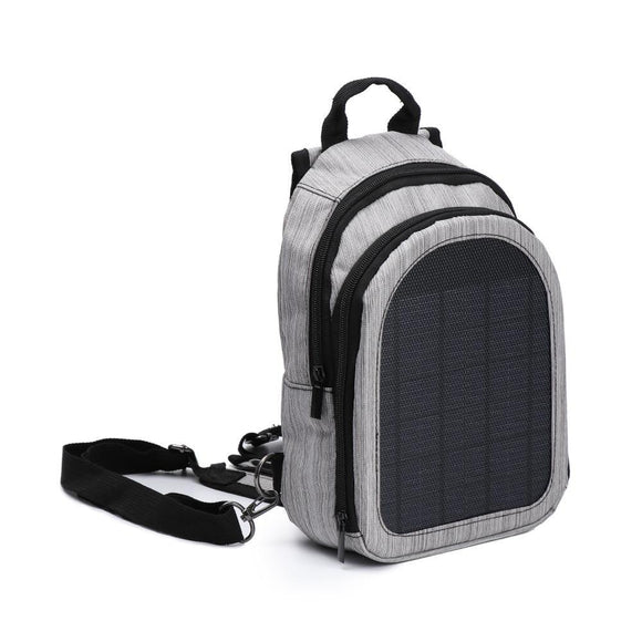 Solar Powered Ultralight Travel Backpack with USB Charging