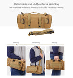 Multifunctional Molle Tactical Military Waist Bag