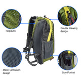 Ultralight Running Solar Powered Backpack with USB Charging