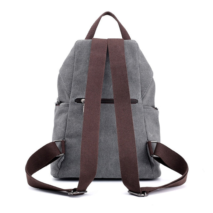 Women's Junie Style Canvas Backpack