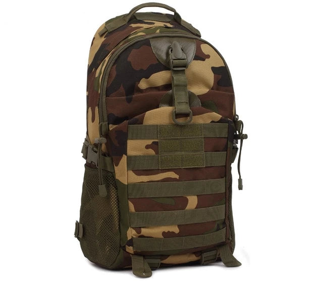 35L Tactical Camouflage Waterproof Military Molle Backpack