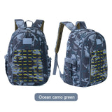 30L 900D Nylon Waterproof  Military Laser Cut Molle Backpack with USB Charging