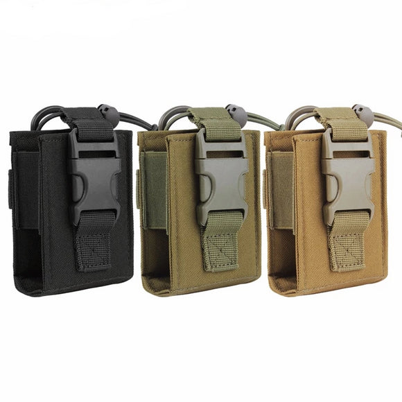 Molle Tactical Walkie Talkie Pouch