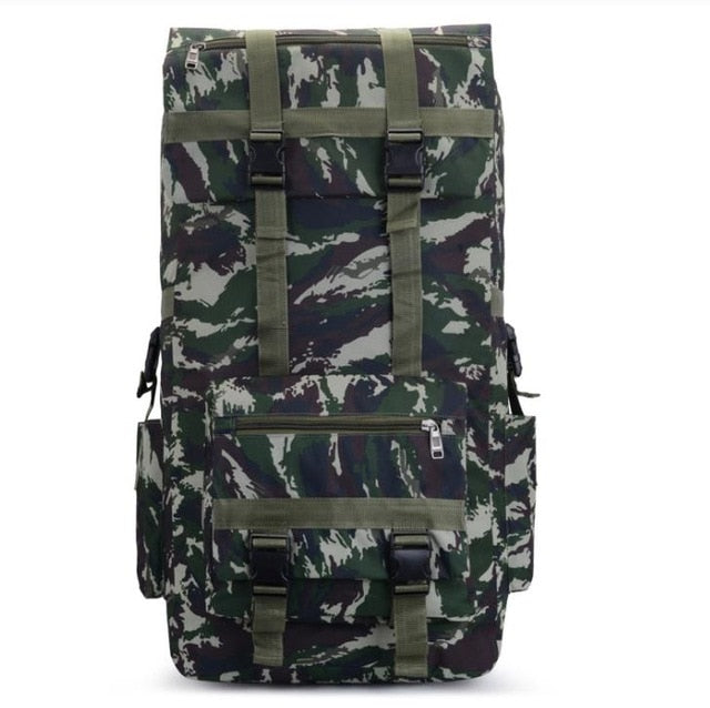 110L to 120L Large Capacity Outdoor Military Tactical Backpack Rucksack