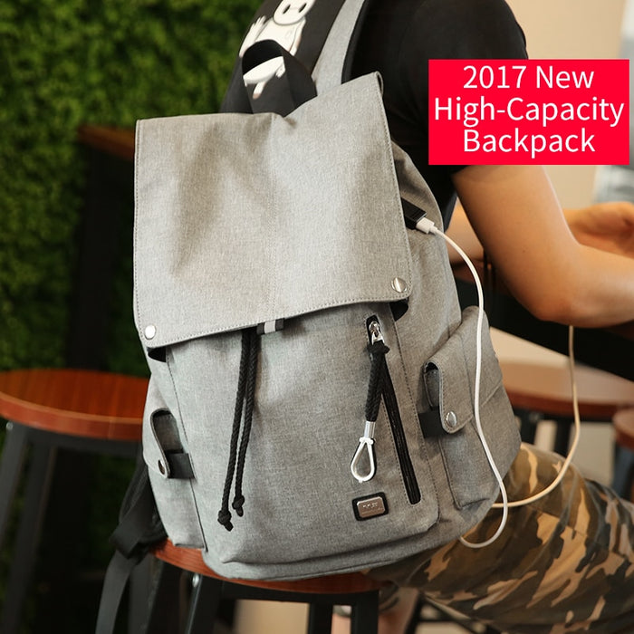 Mark Ryden Large Capacity Top Loading USB Charging School Backpack