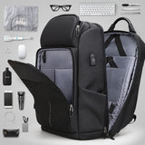 Mark Ryden High Capacity Multifunction USB Charging 17 Inch Laptop Backpack