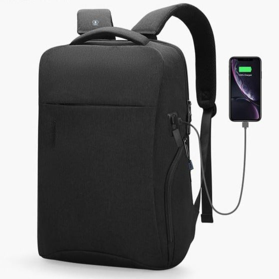 Mark Ryden RFID Chip Anti Theft 15.6 Inch USB Charging Laptop Backpack