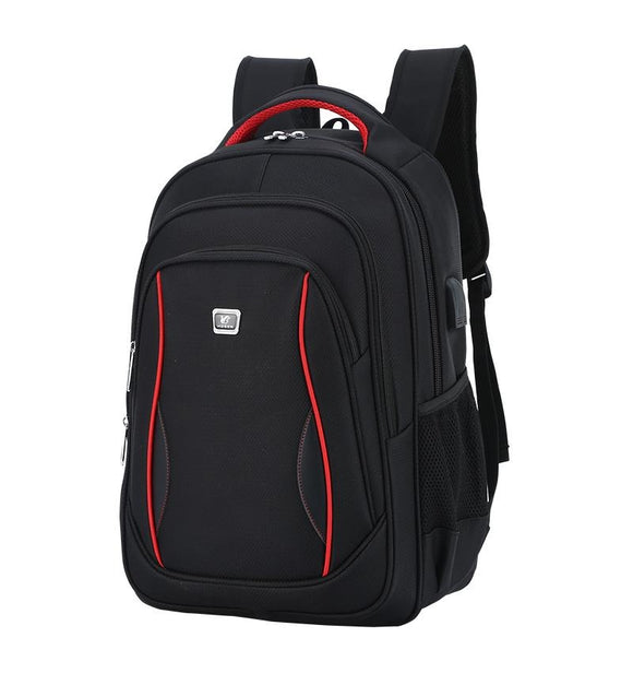 Men's Waterpoof USB Charging Oxford Laptop Backpack