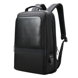 Men's Business USB Charging 15.6 Inch Laptop Backpack