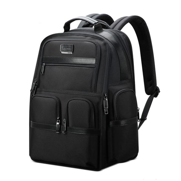 Men's Business Travel Large Capacity Expandable Backpack