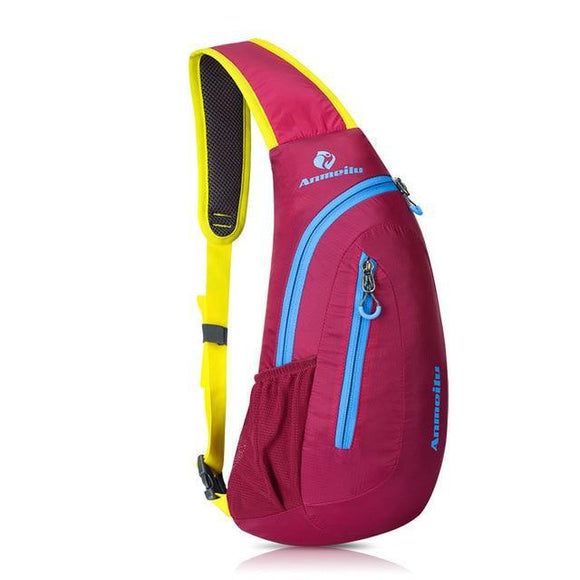 8L Waterproof Nylon Cross Body Backpack
