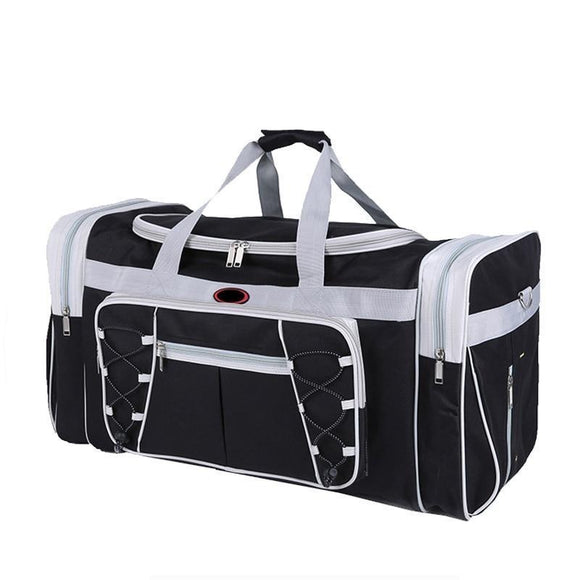 Two Tone Classic Duffel Bag