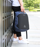 Men's Medium Anti-Theft Backpack with USB Charging