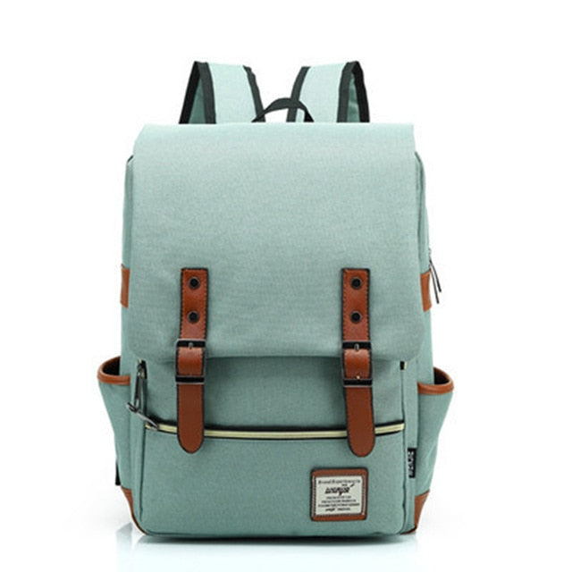 "Women's Vintage 15"" Laptop Backpack"