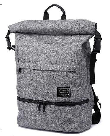 Men's Large Oxford Top Loaded Wet Dry Travel Backpack