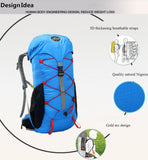 Women's 30L Multi-Function Outdoor Camping Hiking Mountaineering Backpack