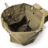 40L Tactical Military Duffel Classic Canvas Drab Bag with Shoulder Straps