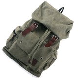 Women's Vintage Canvas Traveler Backpack