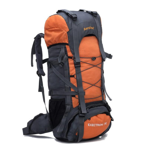 70L Waterproof Durable Oxford Nylon Camping & Climbing Rucksack