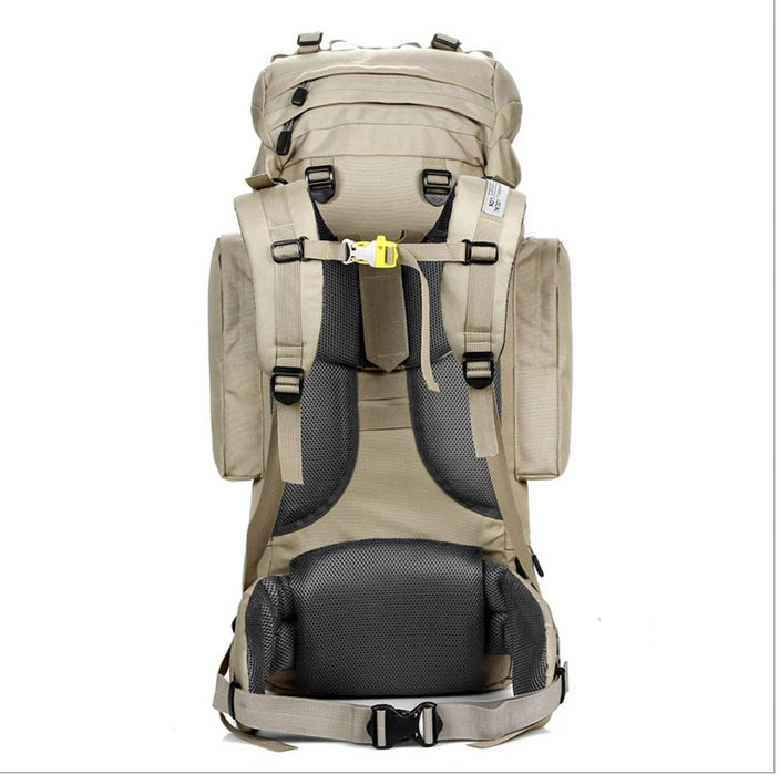 "85L Local Lion Outdoor Mountaineering Large Capacity Nylon ""U"" Internal Frame Camping Trekking Hiking Rucksack"