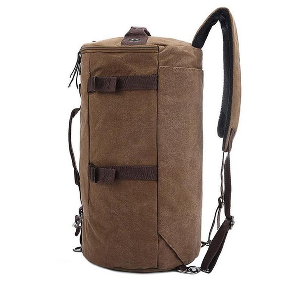 Men's Mid-Volume Classic Canvas Travel Duffel Bag