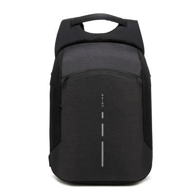 Men's Small Fashion Anti-Theft Backpack with USB Charging