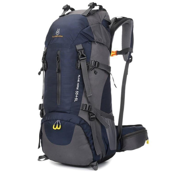 60L Large-Capacity Camping Hiking Trekking Backpack