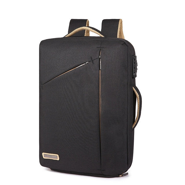 "Slim Anti-Theft 13"" Laptop Backpack with TSA Lock"
