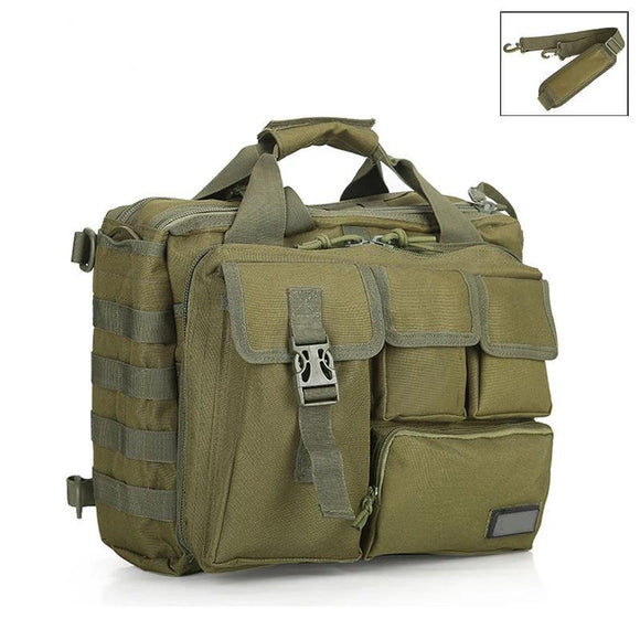 Military MOLLE Tactical Laptop Messenger 15