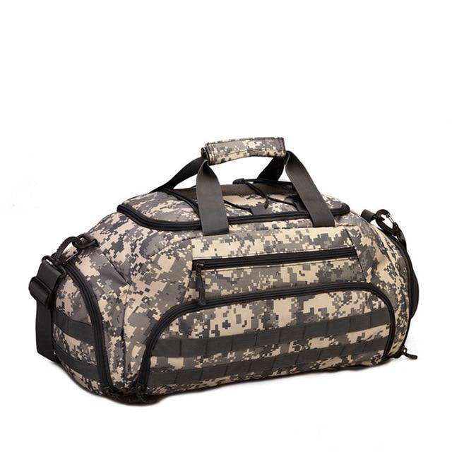 35L Military Molle Tactical Duffel Backpack