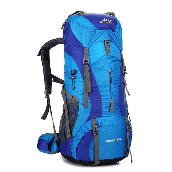 70L Professional Outdoor Camping Hiking Trekking Rucksack