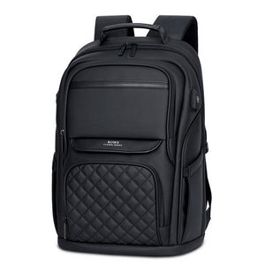 Men's Executive Series Business Laptop Backpack with USB Charging