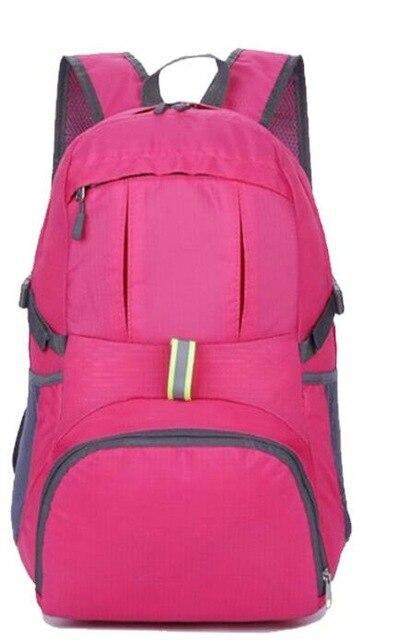 Ultralight Nylon Foldable Backpack