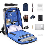 "Medium Anti-Theft 13"" 15"" Laptop Backpack with USB Charging and TSA Lock"