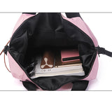 Women's Casual Nylon High Capacity Waterproof Backpack