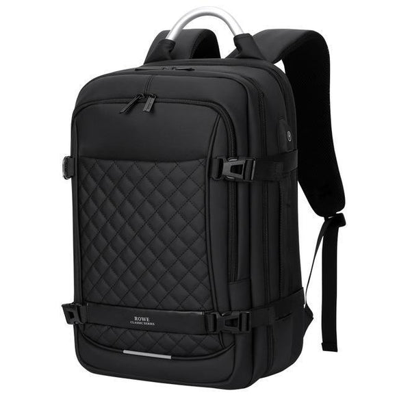 Men's Large Executive Modular Backpack with USB Charging