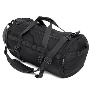 Women's Classic Large Capacity Barrel Sports Gym Duffel Bag