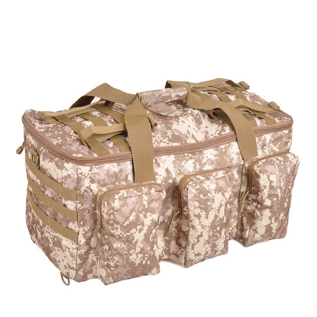 55L Military SWAT MOLLE 1000D Tactical Army Duffel Bag