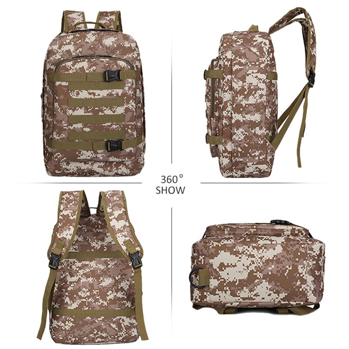 20L Military MOLLE Tactical Army Multifunctional School Backpack