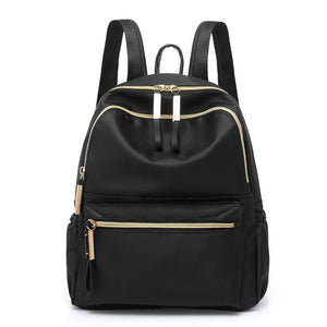 Women's Classic Black Small Day Backpack