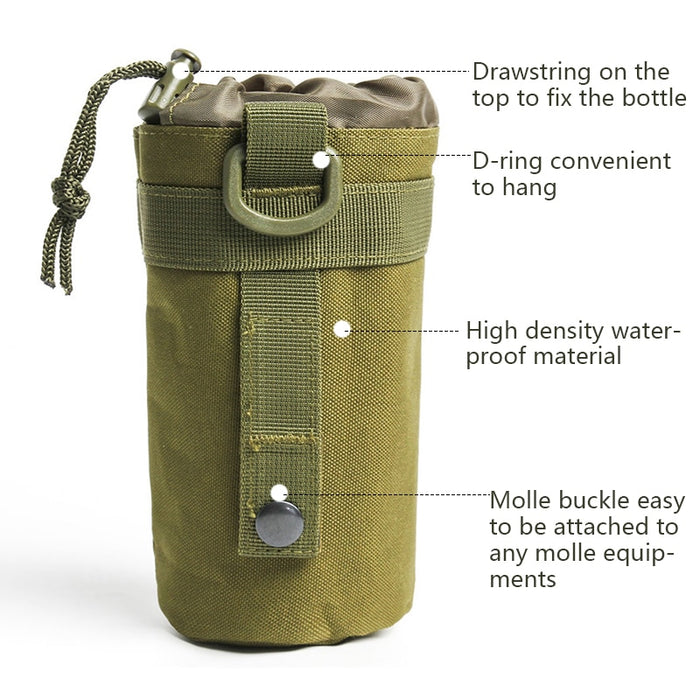 Molle 600D Water Bottle Pouch