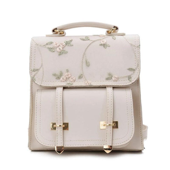 Women's Mini Floral Backpack Purse