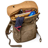 Large Brown Hyde Explorer Travel Photographer Backpack