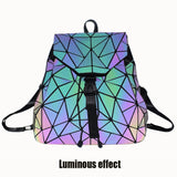 Women's Color Changing Holographic Opalescent Backpack