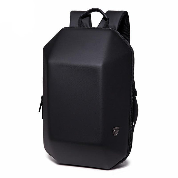 Men's Small Hard Shell Anti-Theft Backpack