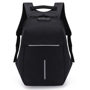 "Small Fashion Anti Theft 15"" Laptop Backpack With USB Charging and TSA Lock"