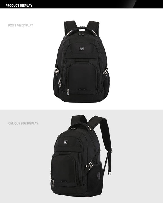 Swiss Design Medium Travel Backpack with USB Charging