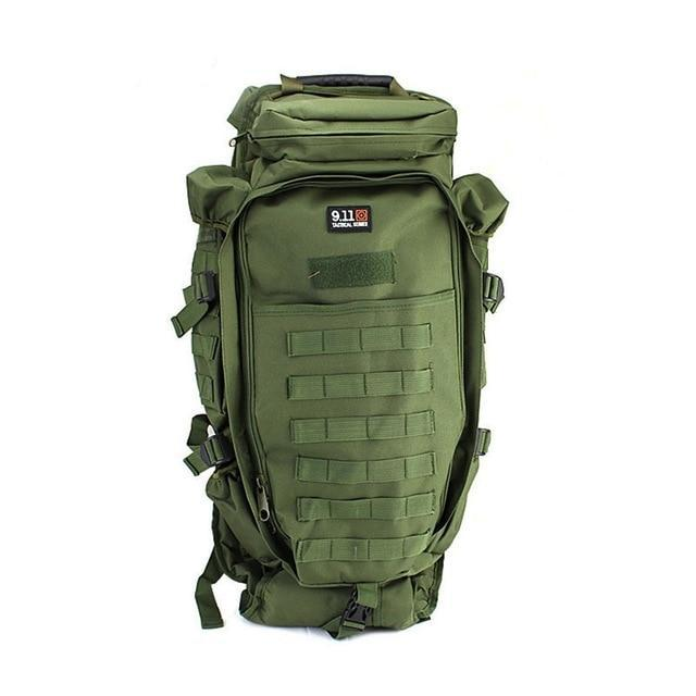 60L Military Molle Tactical Army Backpack with Waist Strap