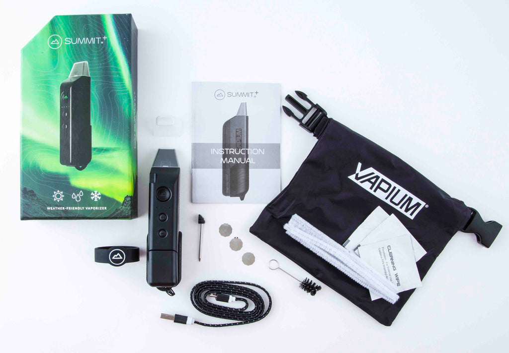 Vapium Summit Vaporizer Box Contents