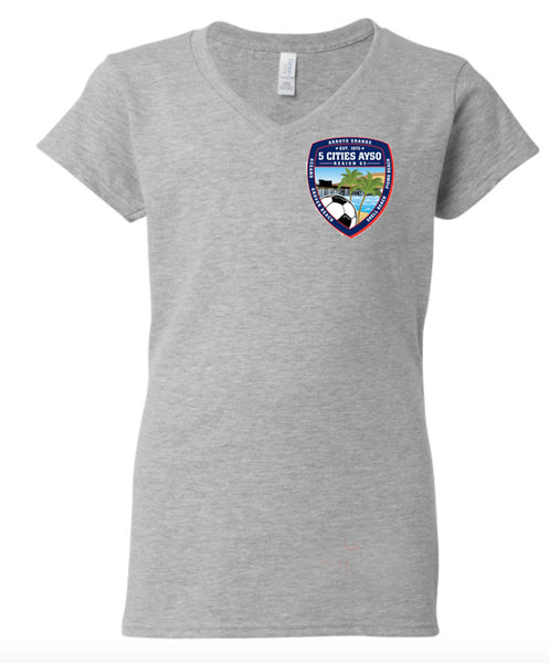 AYSO: Ladies V Neck
